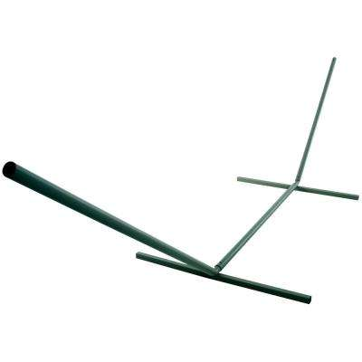 15 ft. Steel Hammock Stand in Forest Green