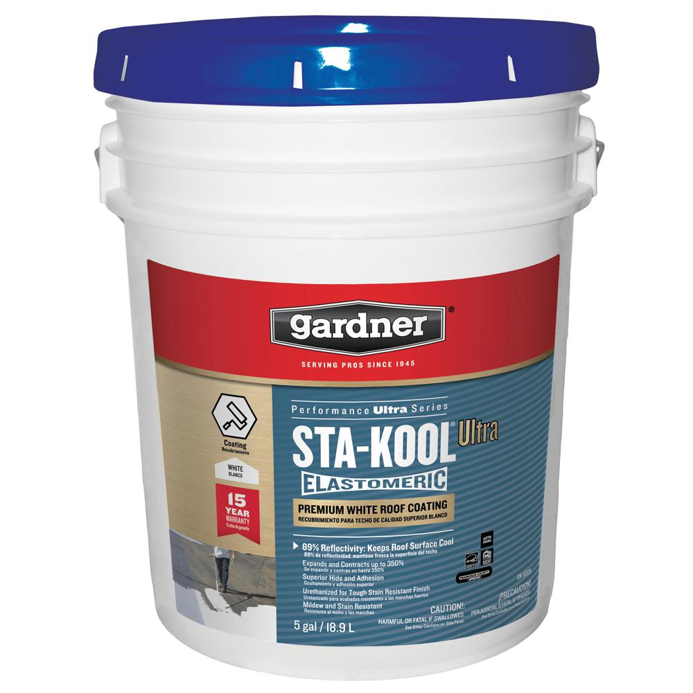 5 Gal. Sta-Kool Ultra Premium White Roof Coating