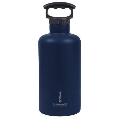 64 oz. Vacuum-Insulated Tank Growler in Navy Blue