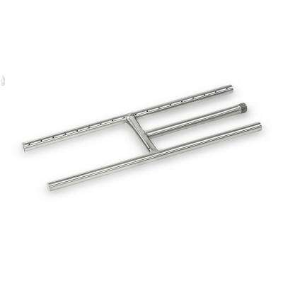 18 in. x 6 in. Stainless Steel H-Burner