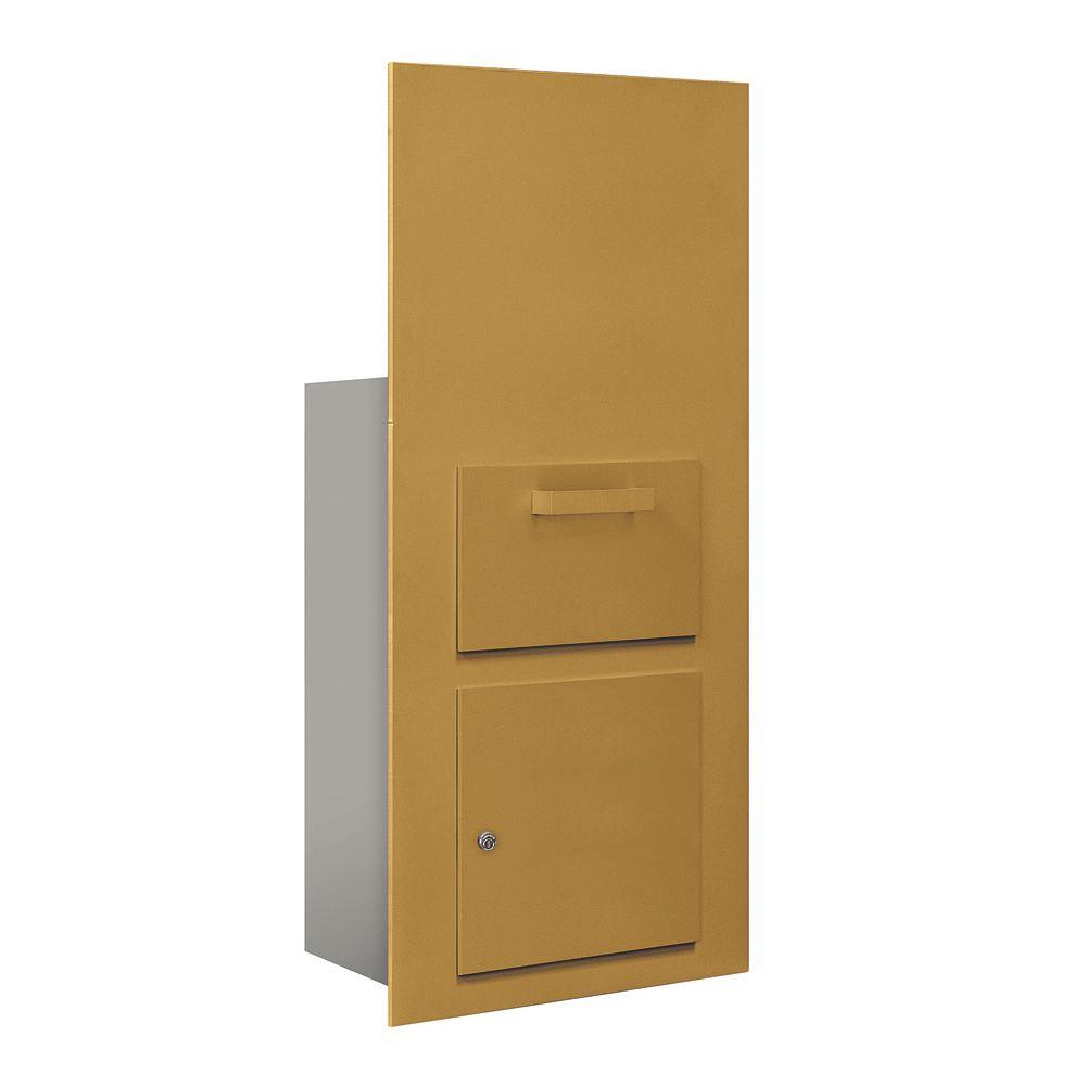 3600 Series Collection Unit Gold USPS Front Loading for 7 Door