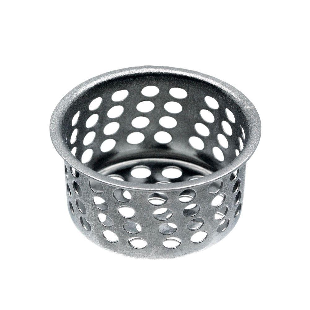 1-1/32 in. Basket Strainer in Chrome
