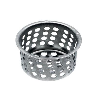 1-1/16 in. Sink Basket Strainer in Chrome