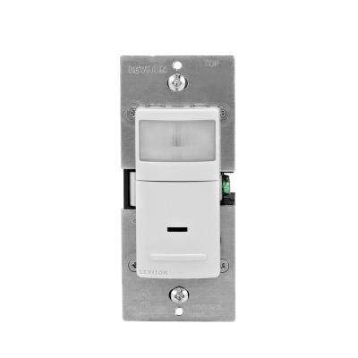 15 Amp 120-Volt Single-Pole and 3-Way Occupancy Sensor Wall Switch with Color Change Kit