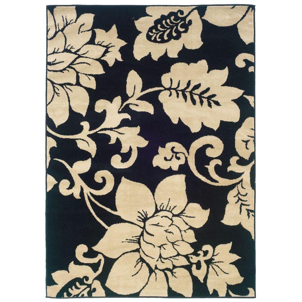 Oriental Weavers Evanston Madison Black 1 Ft. 10 In. X 2