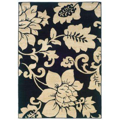 Evanston Madison Black 2 ft. x 3 ft. Area Rug