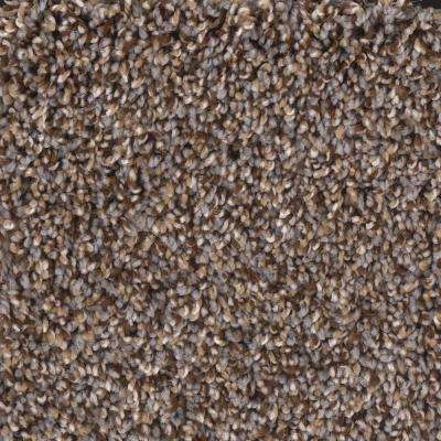 Carpet Sample - Showmanship - Color Islands Sea Texture 8 in. x 8 in.