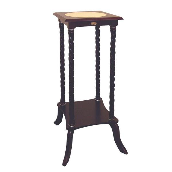 62ee29ba18f0 Brown Indoor Plant Stand H-34 - The Home Depot