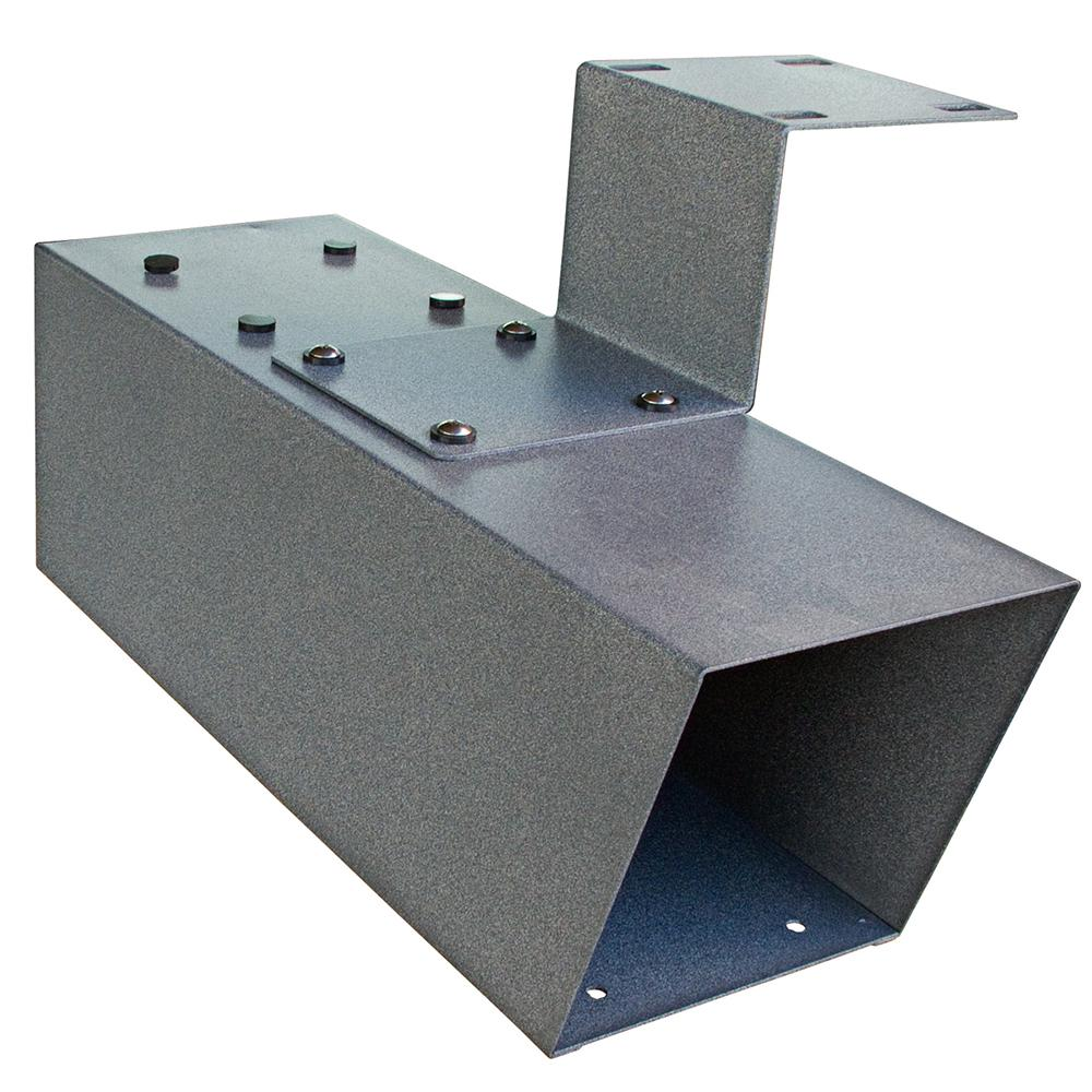 Steel Newspaper Holder in Granite