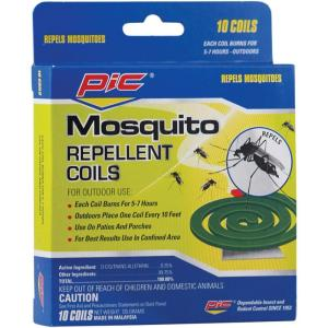 PIC 10 Mosquito Repellent Coils (3-Pack) by PIC