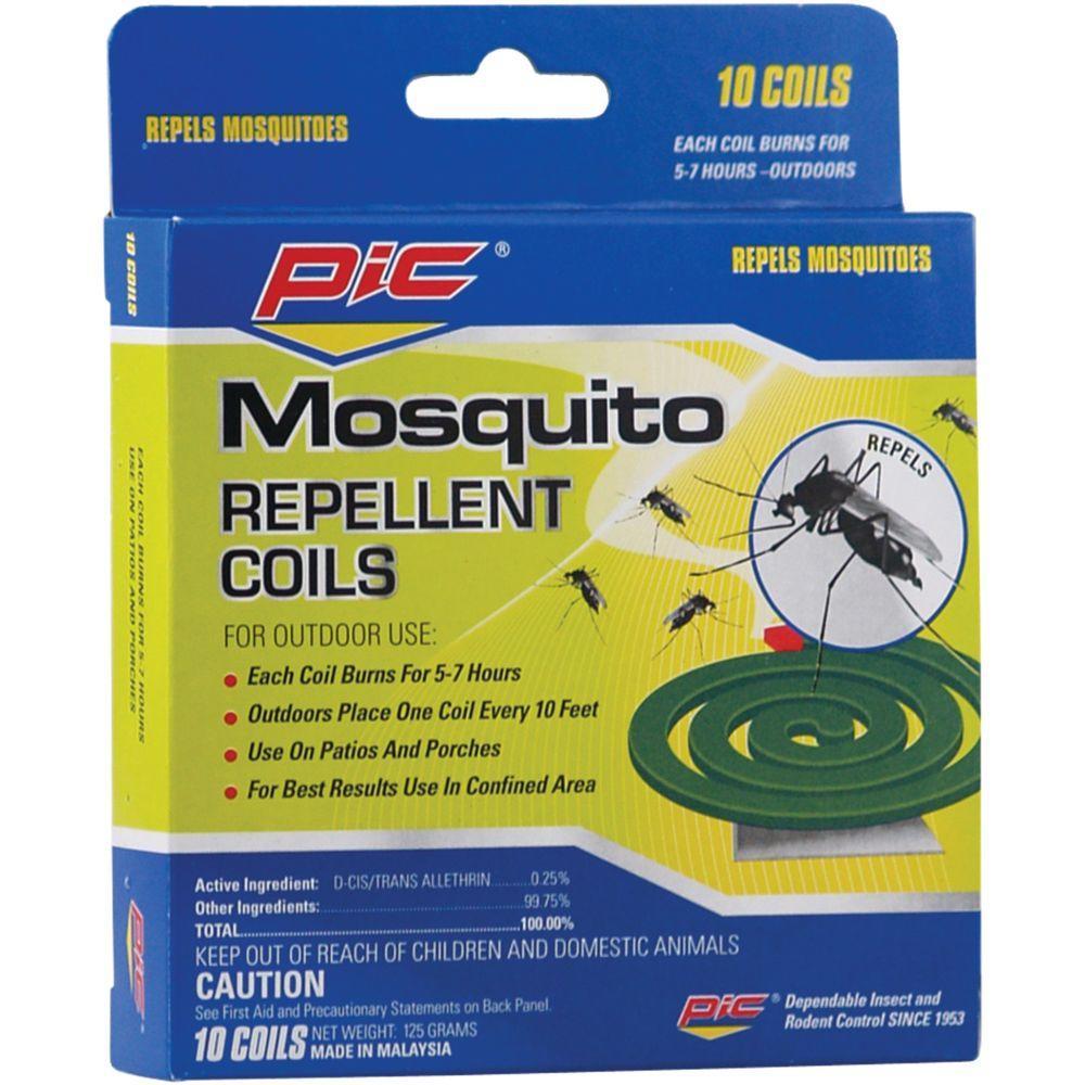 10 Mosquito Repellent Coils (3-Pack)