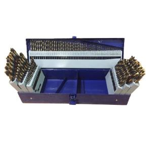 Click here to buy Drill America Heavy Duty High Speed Steel Jobber Drill Bit Set (115-Pieces) by Drill America.