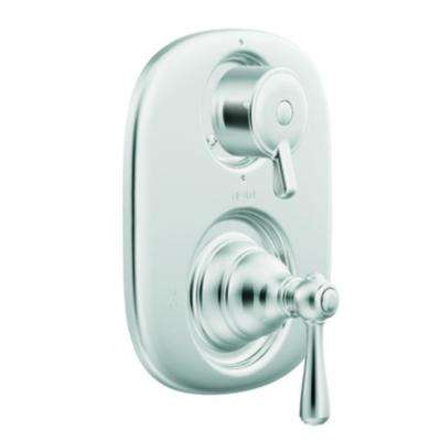 Dartmoor Posi-Temp Rain Shower 1-Handle Shower Only Faucet Trim Kit in Chrome (Valve Not Included)