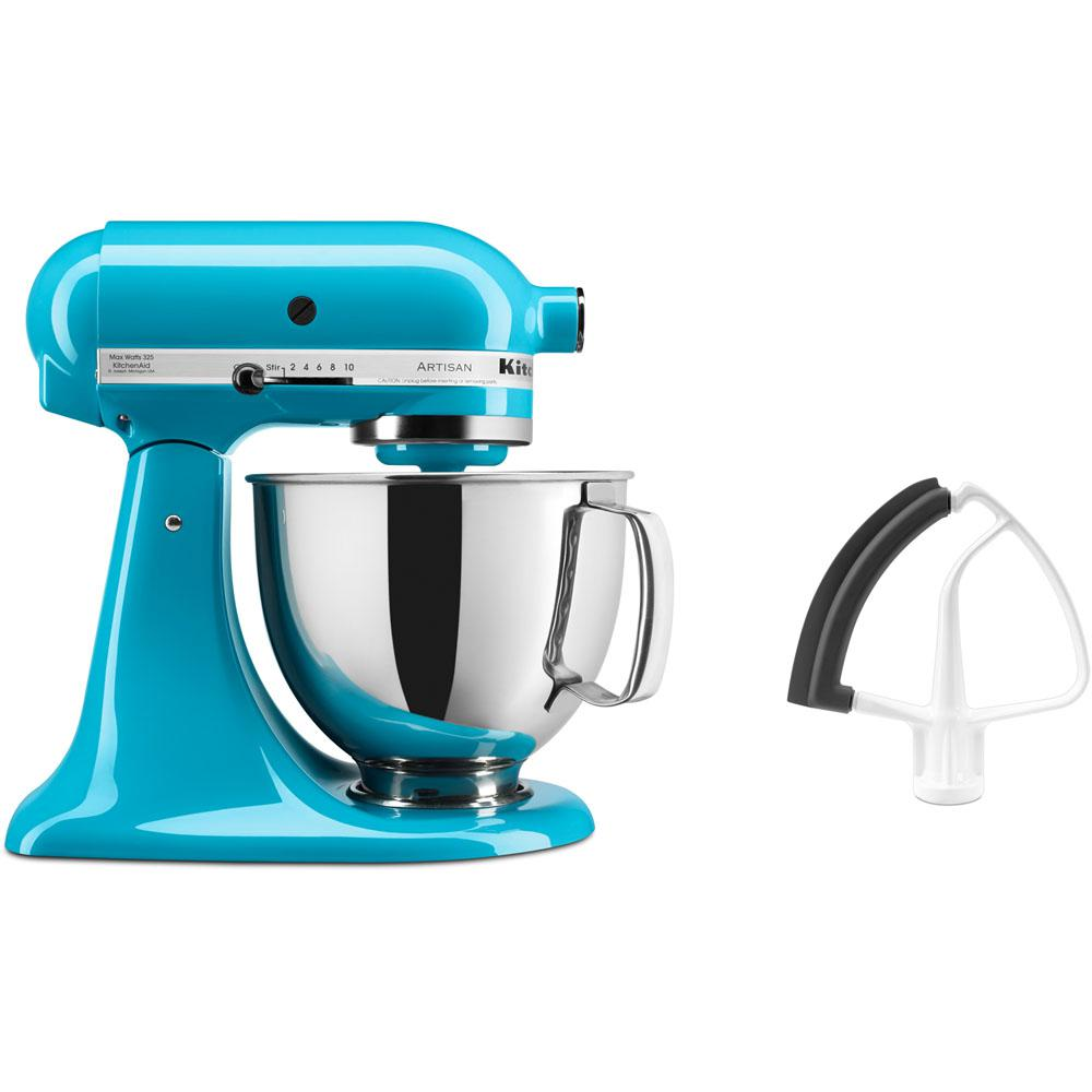 KitchenAid Artisan Series 325-Watt Tilt-Back Head Crystal Blue Stand ...