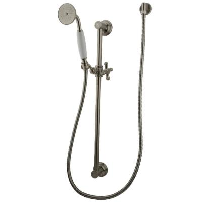 1-Spray Slide Bar Handshower in Brushed Nickel