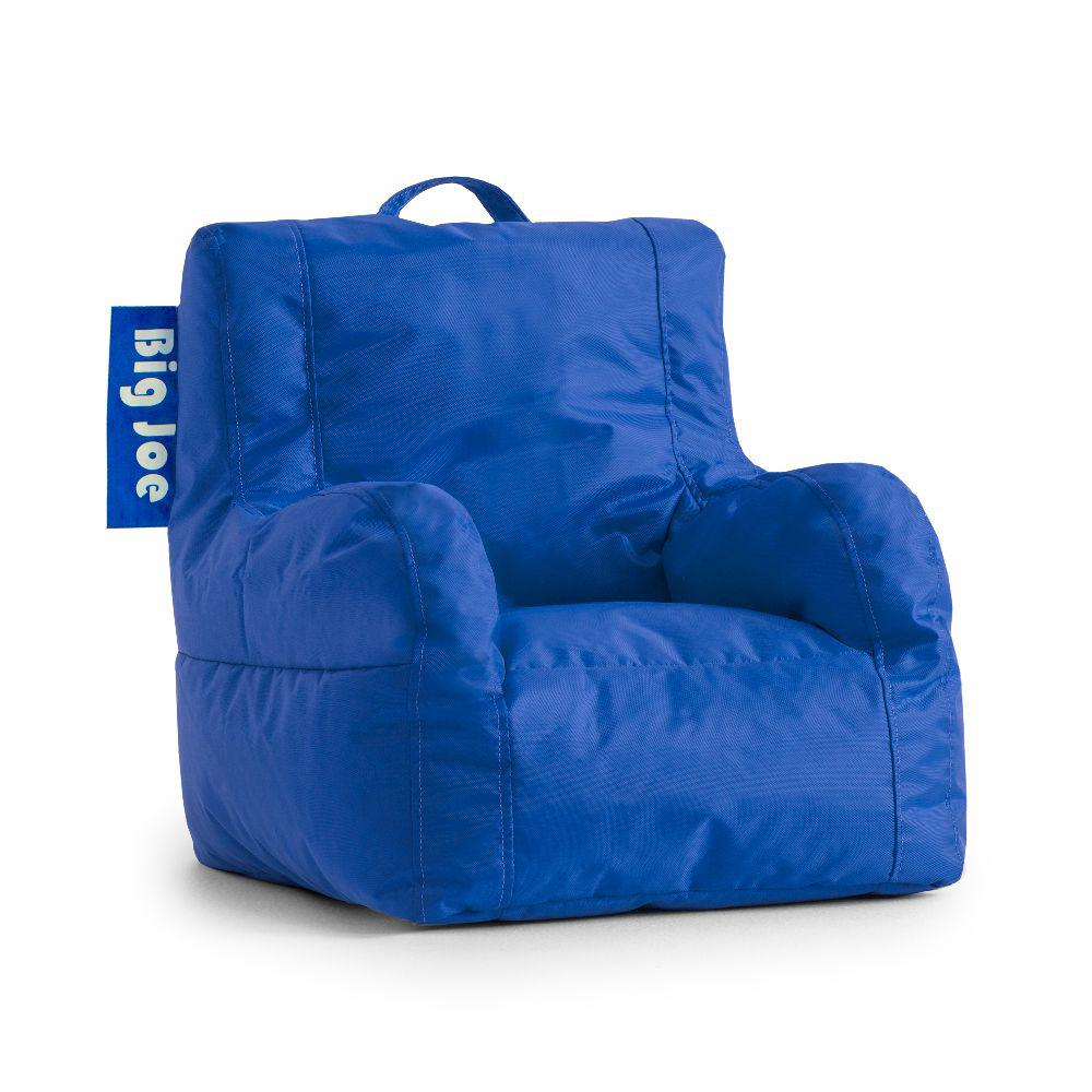 Big Joe Kids Lil Duo Chair Sapphire Smartmax Bean Bag