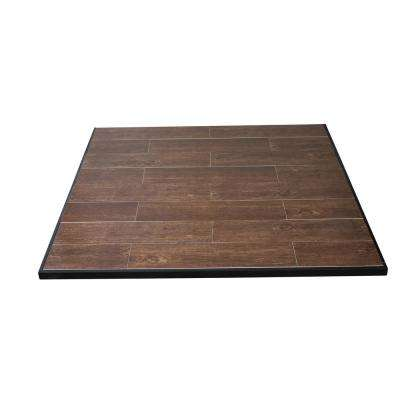 Boxed Hearth Pad Kit 48 in. Medium Oak Square Only