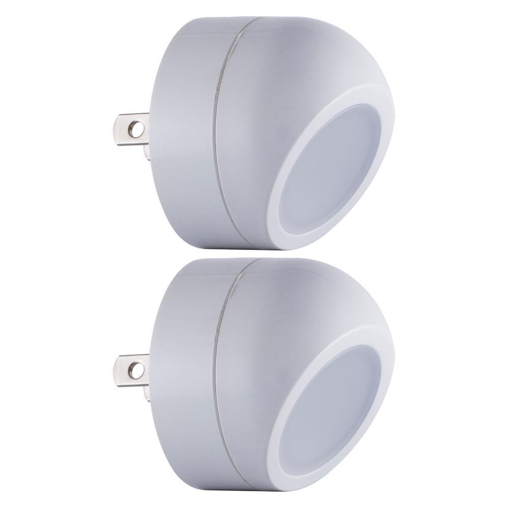 360-Degree Rotating LED Night Light (2-Pack)