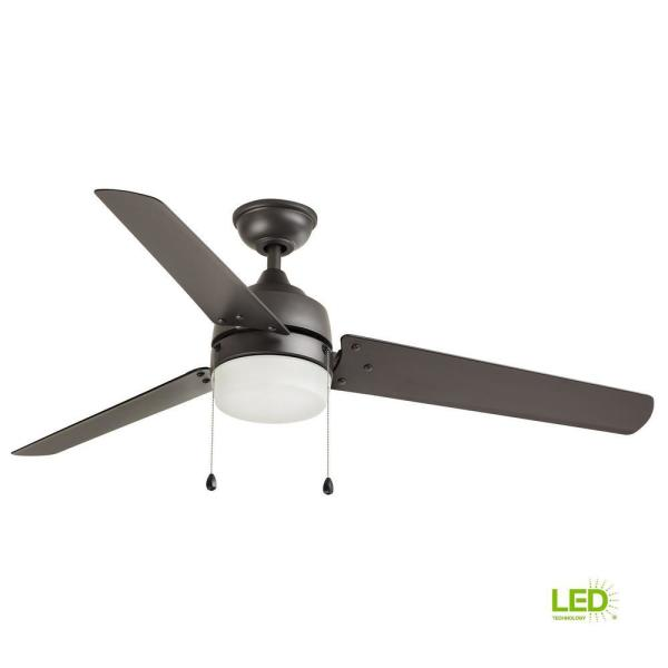 Home Decorators Collection Carrington 60 In Led Natural Iron Ceiling Fan With Light And Remote Control Works With Google And Alexa Yg419 Ni B The Home Depot