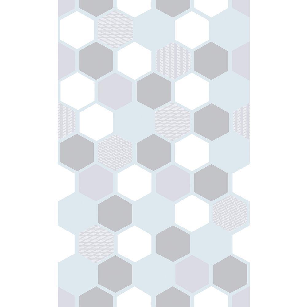 17.7 in. x 59 in. Hexagon Window Film