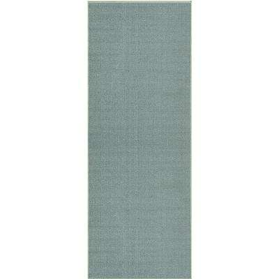 Hamam Collection Sage Green 22 in. W x Your Choice Length Roll Runner