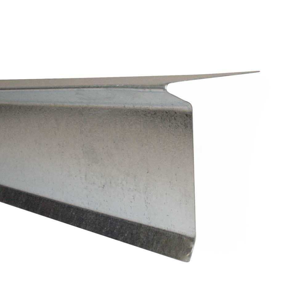 3-1/2 in. x 10 ft. Galvanized Steel Drip Edge Flashing