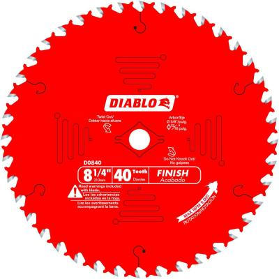 8-1/4 x 40-Teeth Finish Saw Blade