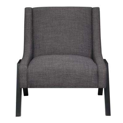 Langley Charcoal Accent Chair