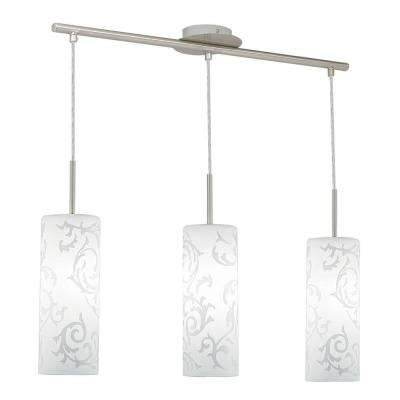 Amadora 3-Light Satin Nickel Hanging Light