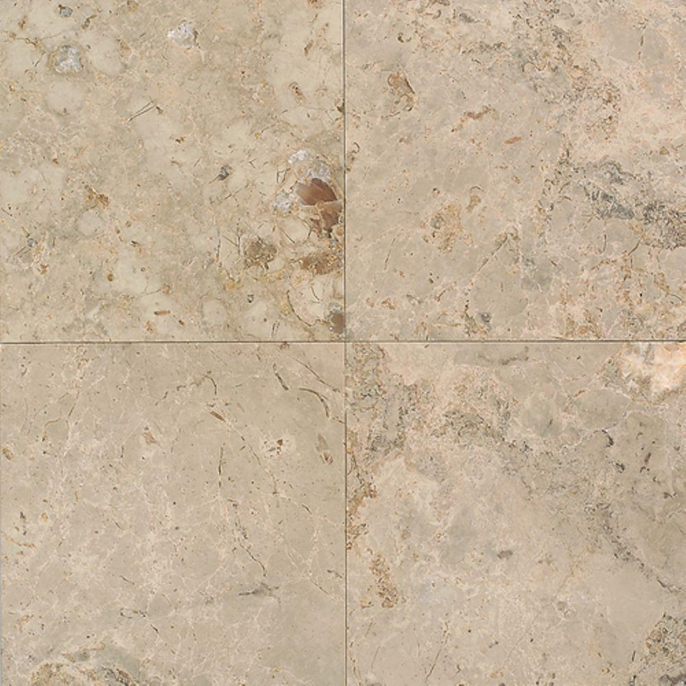 Natural Limestone Walls : Daltile napolina in natural stone floor and