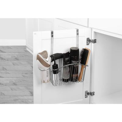 Contempo 13.75 in. W Over the Cabinet Styling Center in Chrome