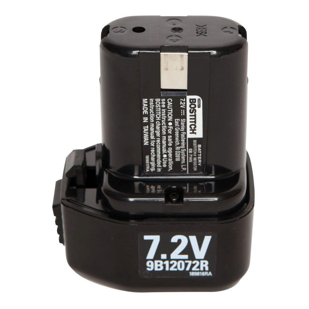 Stanley 72 Volt Ni Cd Battery 9b12072r The Home Depot Simple Cad Charger With Little Parts