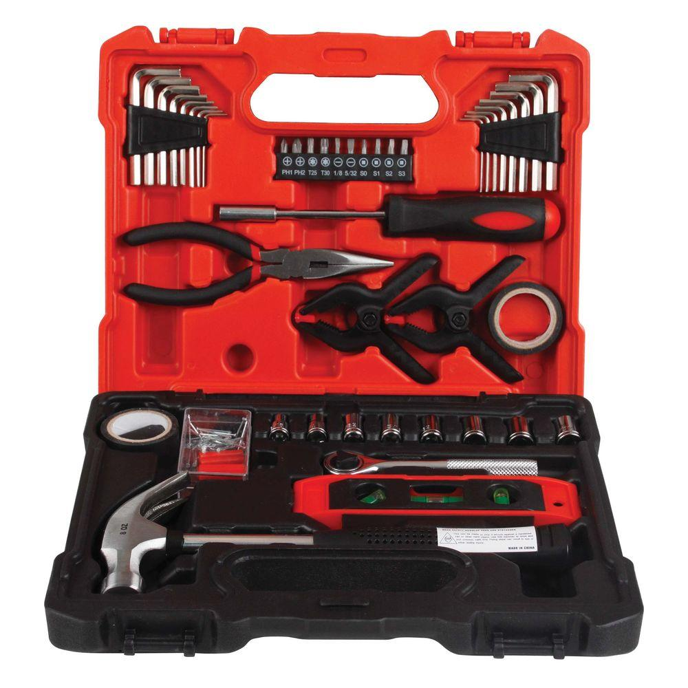SAE and Metric Combination Tool Set (45-Piece)