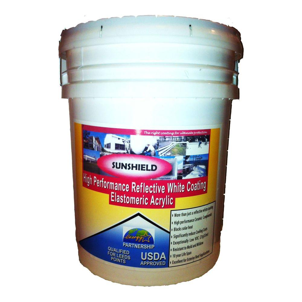 SUNSHIELD 5 Gal. Radiant Barrier for Roofs and Exteriors