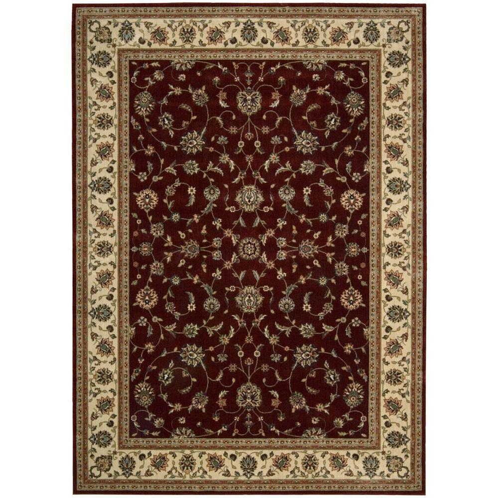 Nourison Persian Arts Brick 7 ft. 9 in. x 10 ft. 10 in. Area Rug