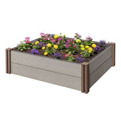 Composite Modular Wood Plastic Raised Garden Bed