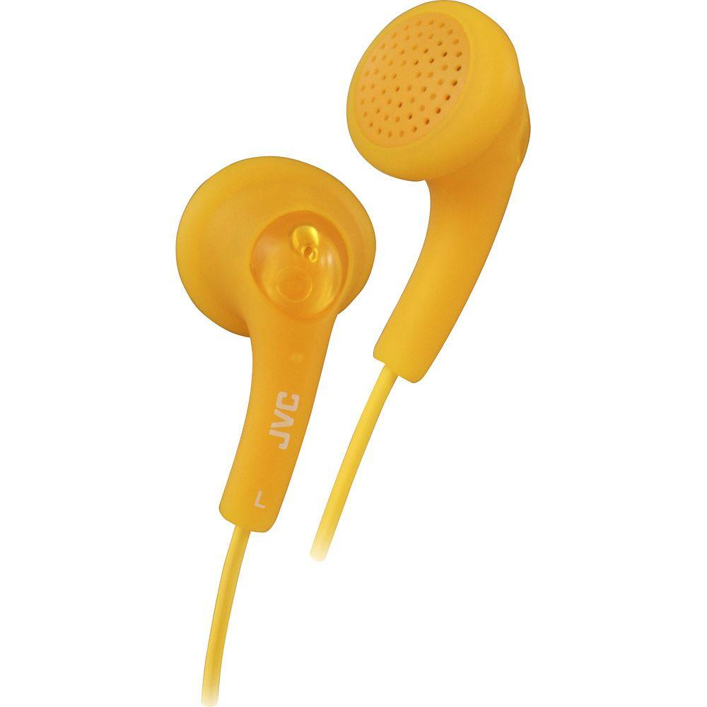 JVC Cool Gumy Earbuds - Orange-DISCONTINUED