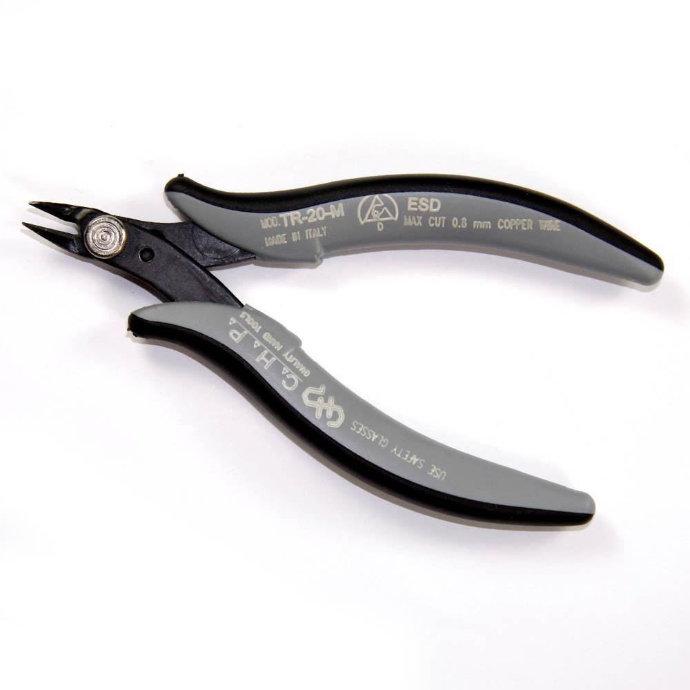 Hakko CHP PN-2008 Long-Nose Pliers 32mm Jaw Length Smooth Jaws 3mm Nose Width Flat Outside Edge Flat Nose 3mm Thick Steel