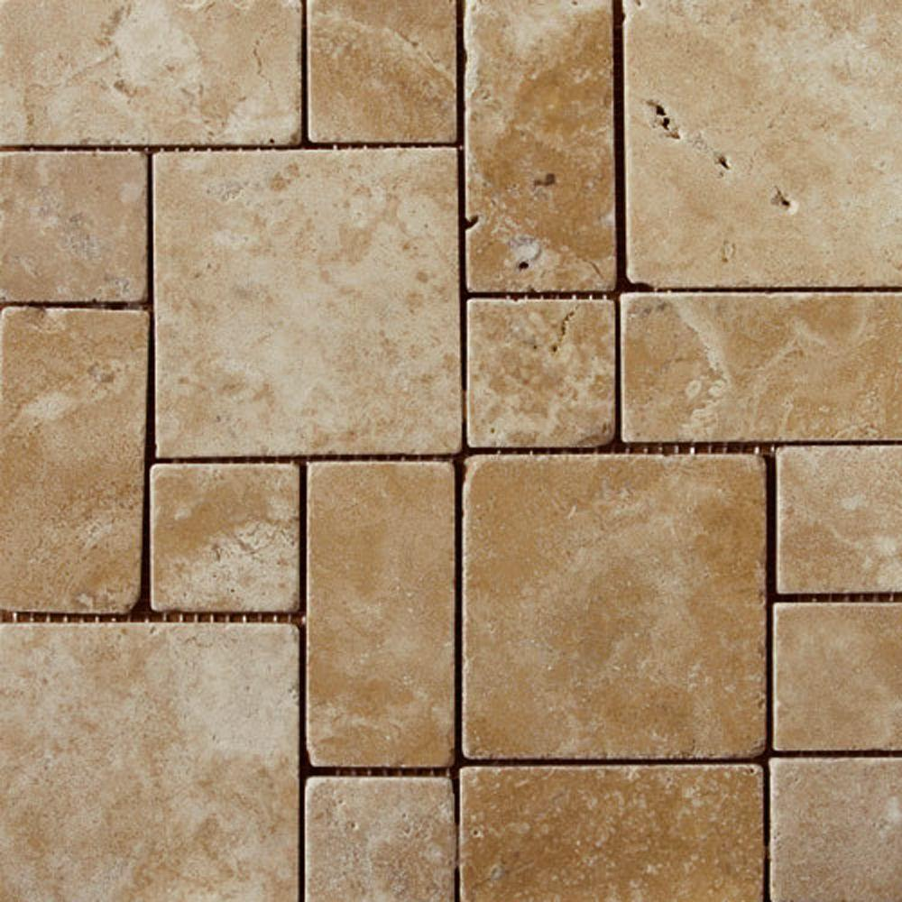 Emser Coliseum 13 in. x 13 in. Rome Porcelain Mosaic Tile-DISCONTINUED