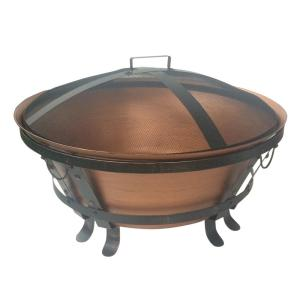34 inch Cauldron Cast Iron Fire Pit by