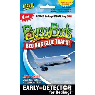 Travel Pack Bed Bug Glue Trap (4-Pack)