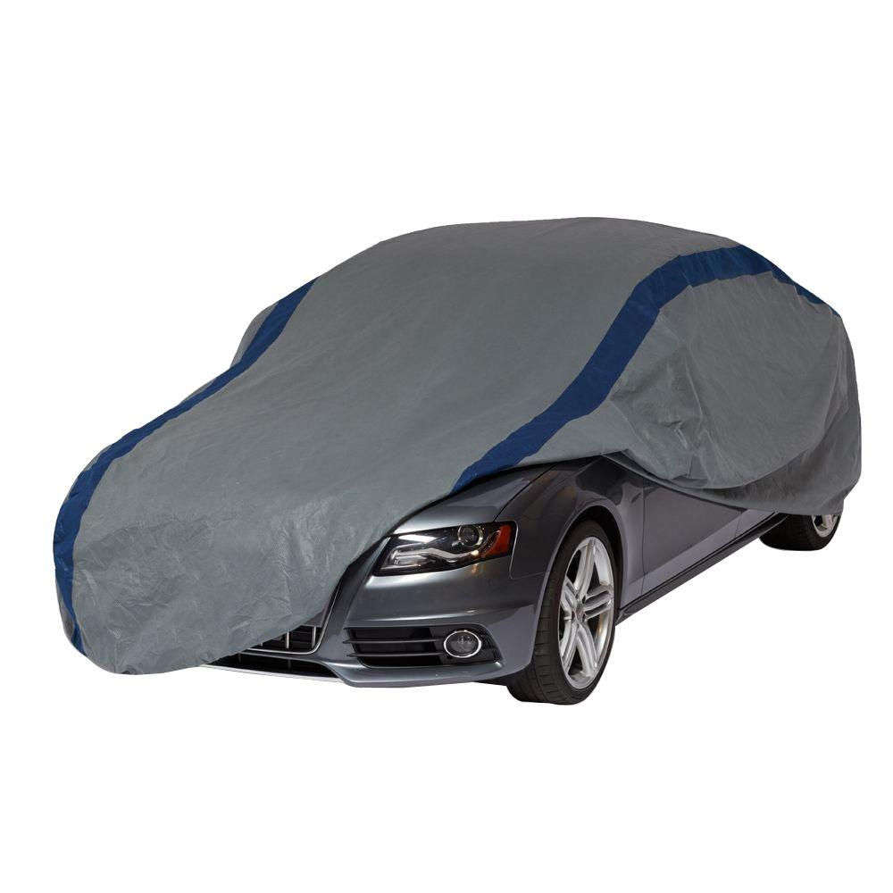 duck covers weather defender sedan semi custom car cover fits up to 19 ft a3c228 the home depot. Black Bedroom Furniture Sets. Home Design Ideas