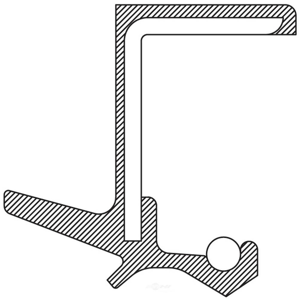 Manual Trans Output Shaft Seal fits 1975-1985 Honda Civic Accord Prelude