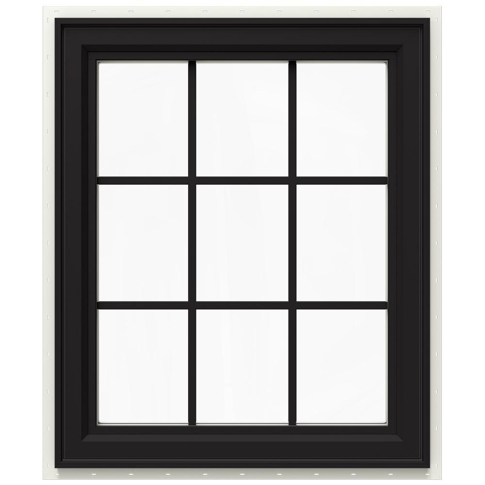 Jeld wen 29 5 in x 35 5 in v 4500 series right hand for Right window