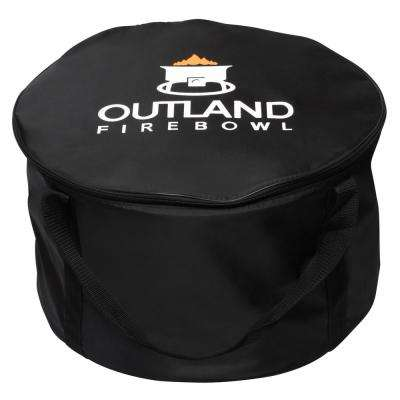 22 in. Cypress Carry Bag for 21 in. Dia Steel Propane Fire Pit