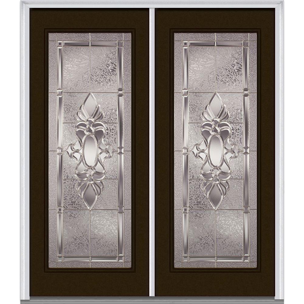 MMI Door 64 in. x 80 in. Heirloom Master Left-Hand Full Lite ...