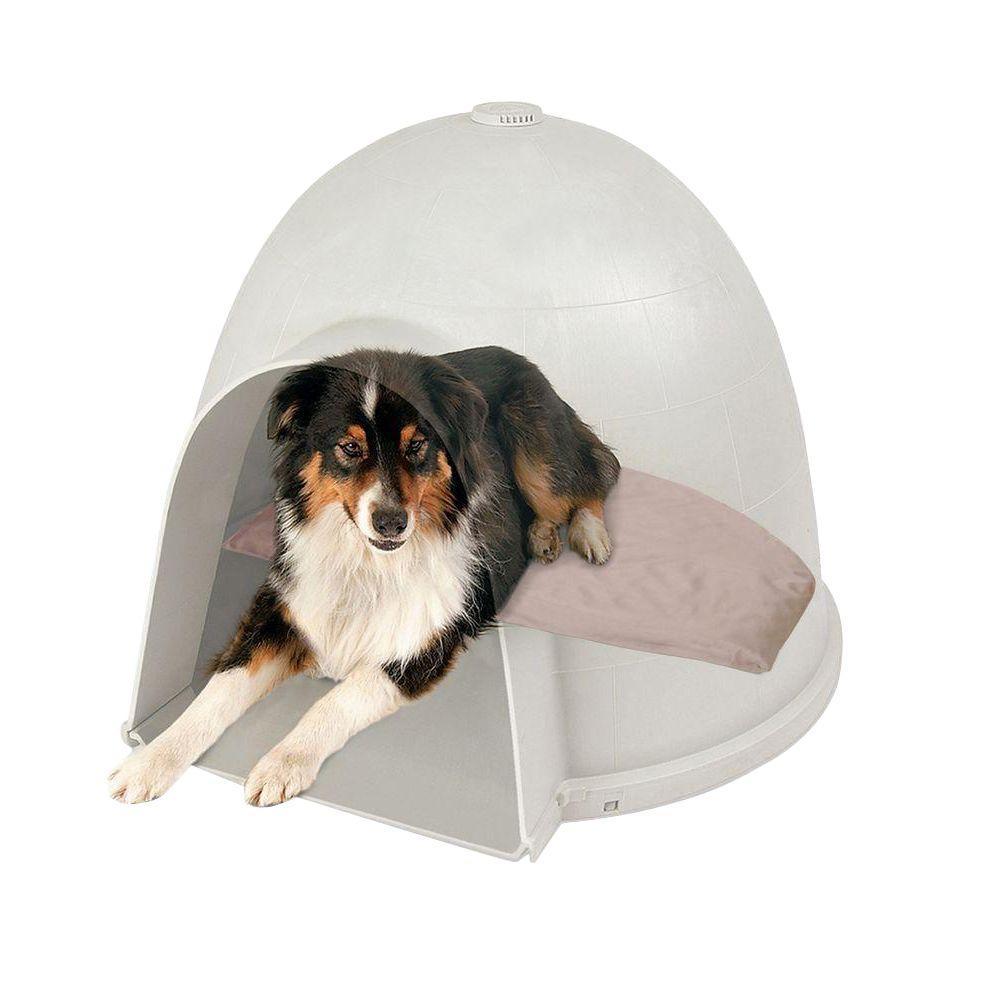 14.5 in. x 24 in. 40-Watt Medium Lectro-Soft Igloo Style Heated Bed