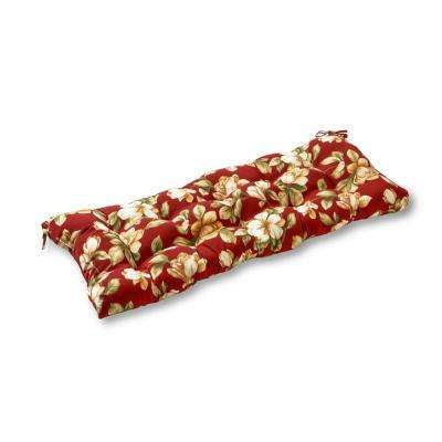 Roma Floral Rectangle Outdoor Swing/Bench Cushion