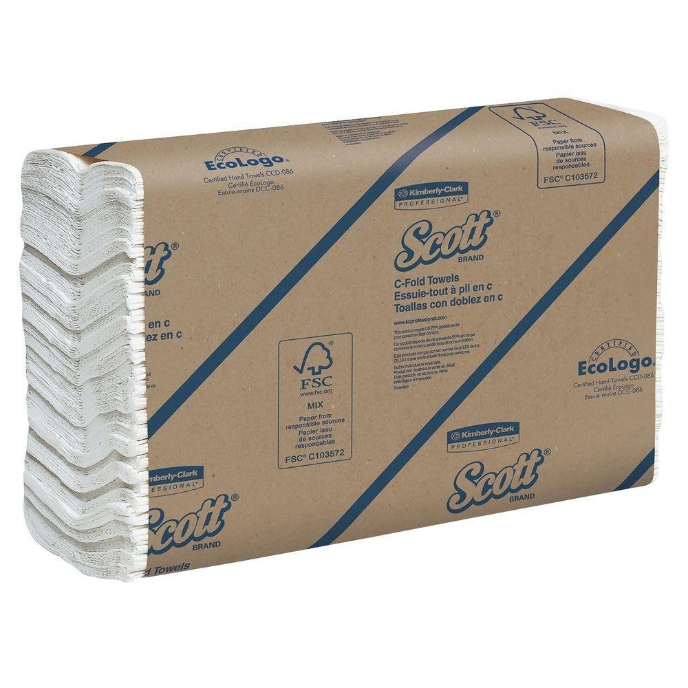 Scott C-Fold Towels (200 Sheets per Pack)-KCC01510 - The Home Depot 6aa946f0b9c
