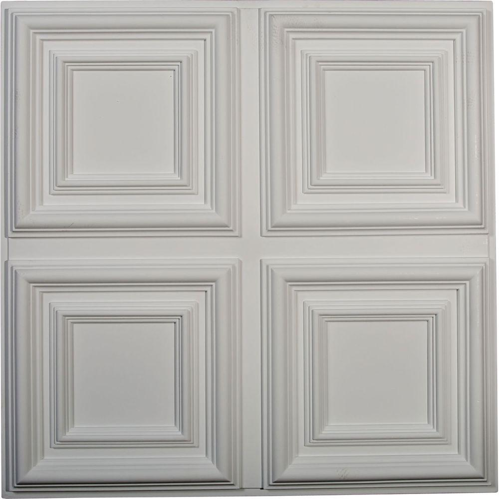23-3/4 in. Quatro Square Ceiling Medallion